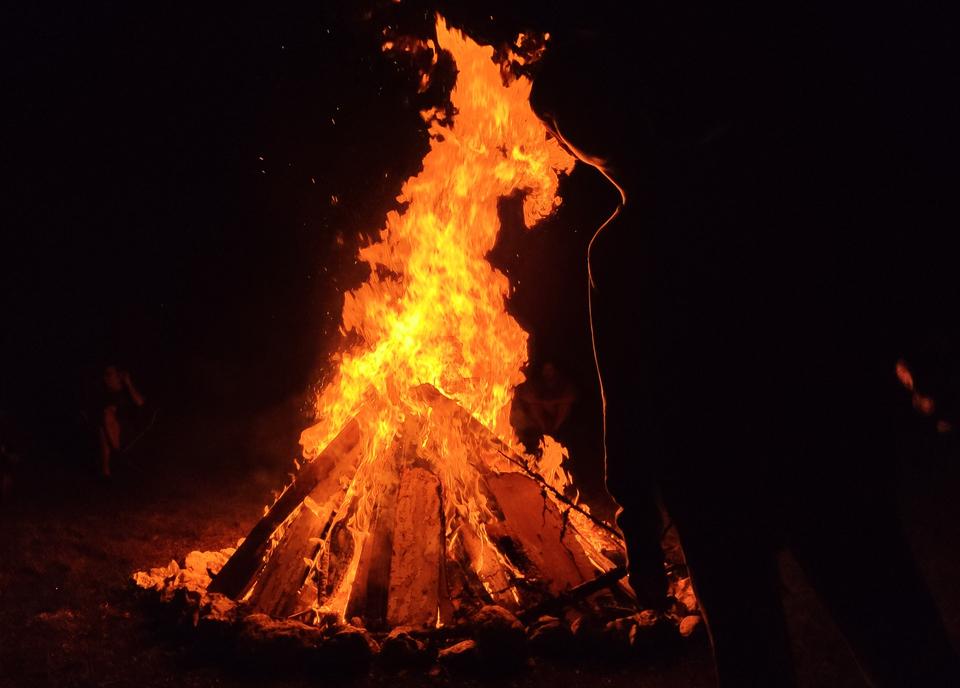 Standard kokko fire