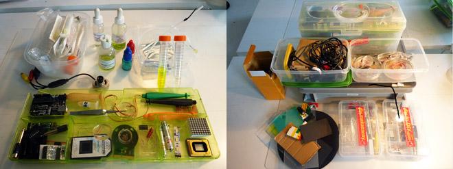 Hackteria mobile bioelectronix lab1