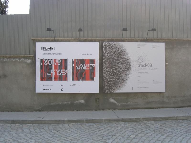 Standard pixelist poster