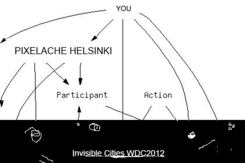 Standard open map pixelache helsinki invisible cities wdc2012