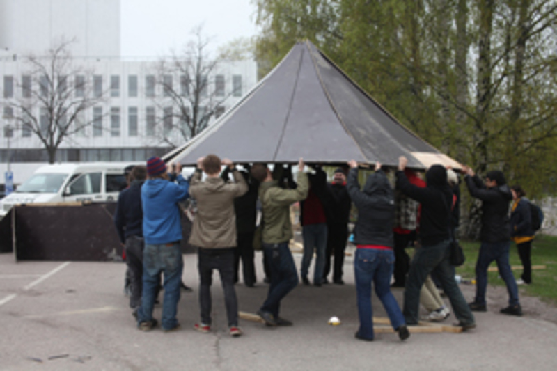 Standard hexayurt talkoot blog