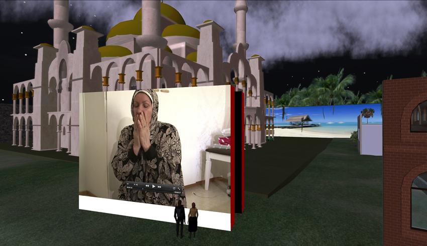 Virtual war stillb