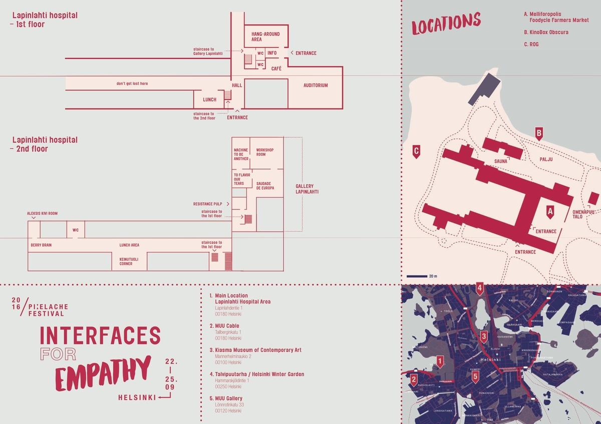 Twelvehundred pixelache 2016 festival map