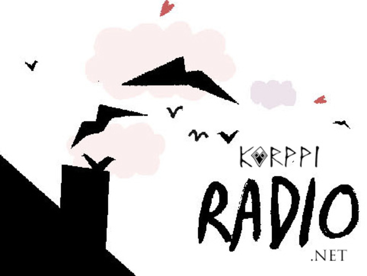 Twelvehundred korppiradio flyer