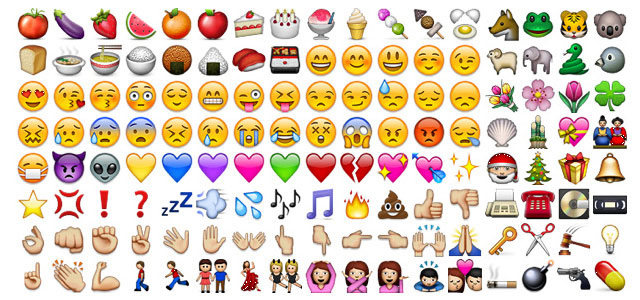 136 different whatsapp emojis